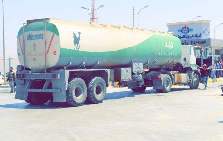 إدارة تشغيل منطقة بنغازي - مستودع رأس المنقار ، أستمرار عمليات أمدادات الوقود لكافة محطات توزيع الوقود لإيفاء حاجة السوق وإنهاء إزدحامات المواطنيين وعدم توقف التشغيل